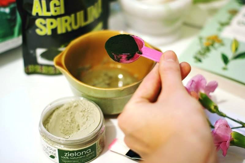 maseczki z zielonej glinki