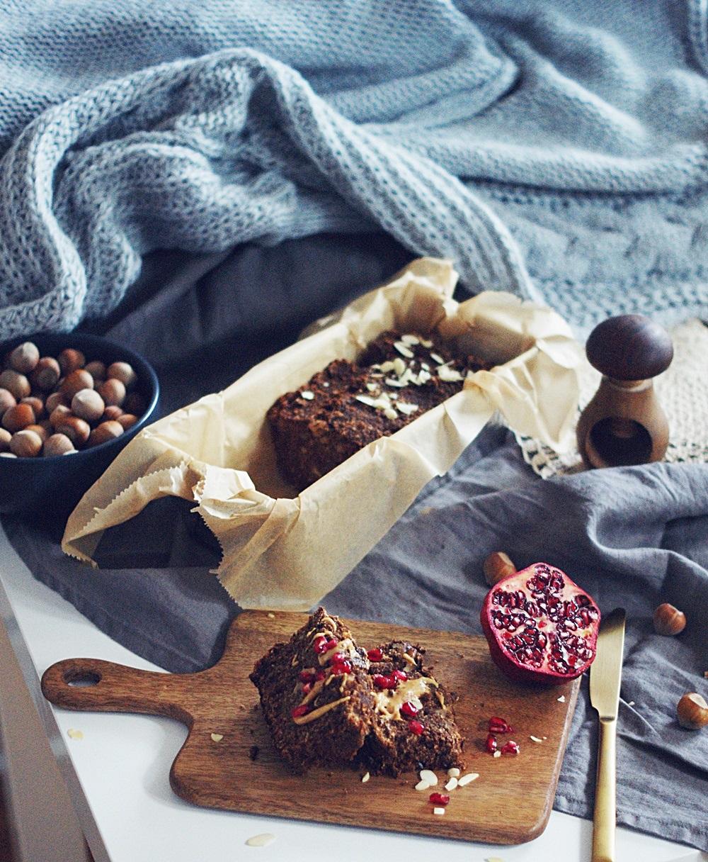 wegańskie ciasto z karobem