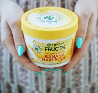 Maski do włosów Garnier Fructis Hair Food – hit czy kit? [RECENZJA]